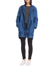 Milly Denim Parka