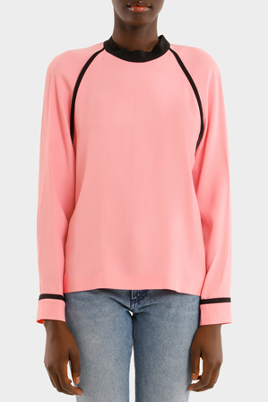 MSGM - Two Tone Blouse