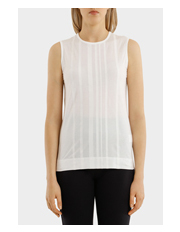 DKNY - Sleeveless Tank With Stripes