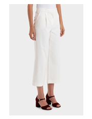 Moschino Boutique - Cropped Wide Leg Trouser