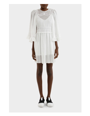MCQ Alexander McQueen - Volume Sleeve Dress