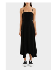 MCQ Alexander McQueen - Flared Fluid Dress