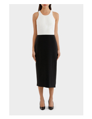Moschino Boutique - Sleeveless Pencil Dress
