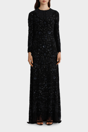 Needle & Thread - Midnight Lace Gown