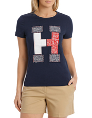 Tommy Hilfiger - Floral Embroidered Tee
