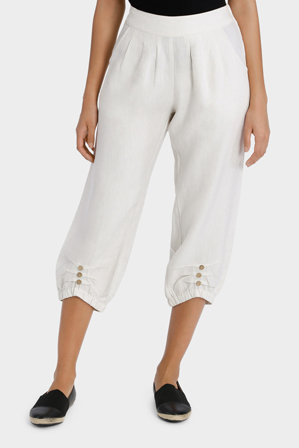Marco Polo - Cropped Button Pant