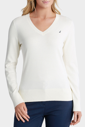 Nautica - Sweater With Contrast Logo