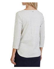 Nautica - 3/4 Sleeve Boatneck Top