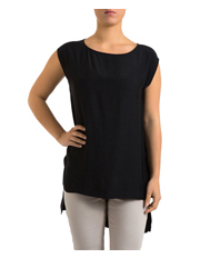PINGPONG - Drop Shoulder High Low Top