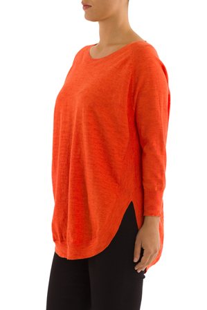 PINGPONG - Lace Up Back Pullover