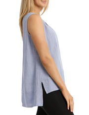 PINGPONG - Sleeveless Crinkle Top