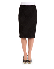 PINGPONG - Mid Pencil Lace Skirt