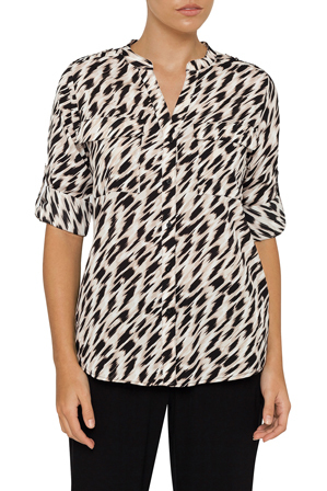 Calvin Klein - Animal Print Shirt