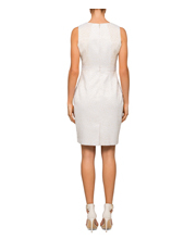 Calvin Klein White - Sheath Dress