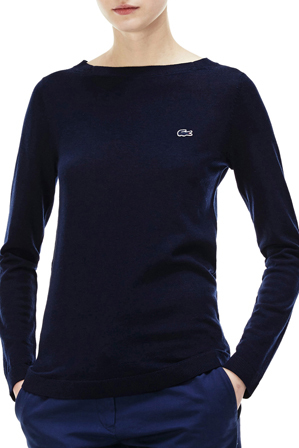 Lacoste - Boat neck sweater