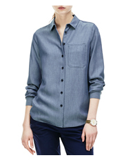 Lacoste - Long Sleeve Denim Shirt