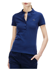 Lacoste - Basic Womens 5 Button Polo