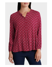 Jump - Long Sleeve Paisley Shirt