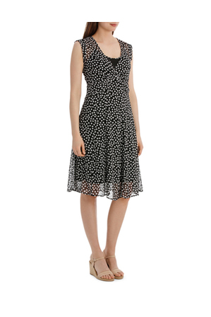 Jump - Waterfall Square Spot Dress