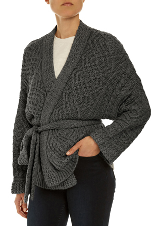 JAG - Cable Knit Cardigan