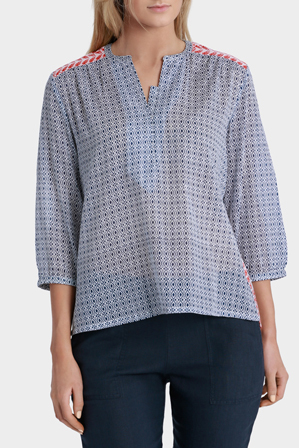 Gordon Smith - Mixed Print Tunic Shirt