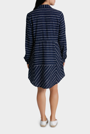 Gordon Smith - Stripe Longline Shirt
