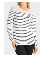 Yarra Trail - Stripe Crew Neck Knit