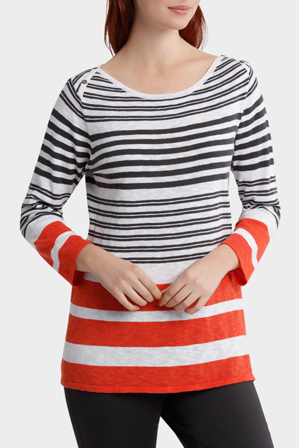 Yarra Trail - Two Stripe Knit
