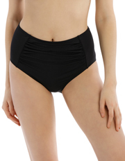 Piper - High Waisted Rouched Front Bikini Pant