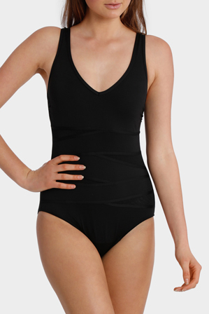Regatta - Black Mesh Insert One Piece