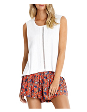 Seafolly - Lace Insert Tank