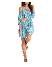 Seafolly - Tropical Cold Shoulder Dress