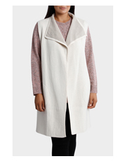 Yarra Trail Woman - Contrast Wrap Knit