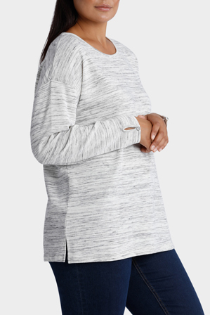 Yarra Trail Woman - Textured Top