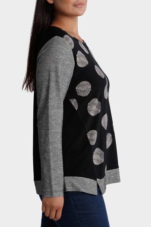 Yarra Trail Woman - Meteor Print top