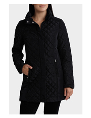 Regatta Petites - Longline Quilted Long Sleeve Jacket