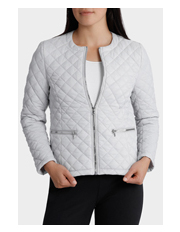 Regatta Petites - Quilted Lurex Long Sleeve Jacket
