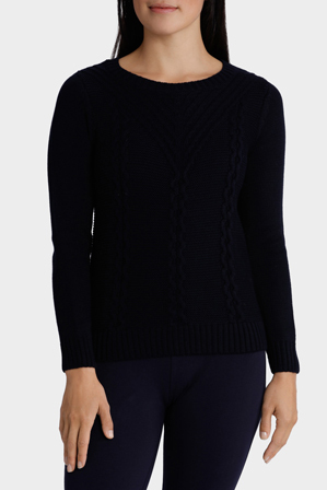 Regatta Petites - Cable Placement Long Sleeve Jumper