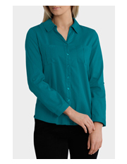 Regatta Petites - Essential Basic Cotton 3/4 Sleeve Shirt
