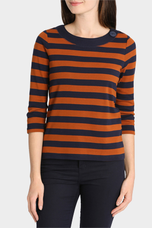 Regatta Petites - Duo Stripe 3/4 Sleeve Tee