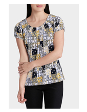 Regatta Petites - Patchwork Tile Grace Short Sleeve Tee