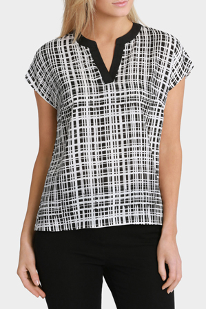 Trent Nathan - Abstract Print Blouse
