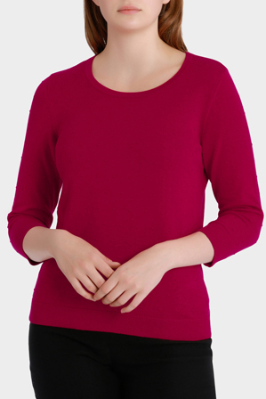 Regatta - Essential Spot Textured 3/4 Sleeve Jumper