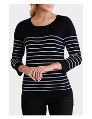 Regatta - Thin Stripe 3/4 Sleeve Jumper