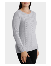 REGATTA Cable Placement Long Sleeve Jumper