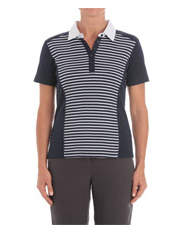 Regatta - Stripe and Spot Short Sleeve Polo