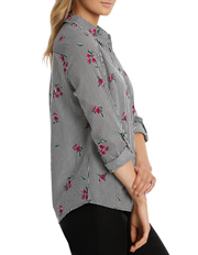 Regatta - Must Have Printed Cotton 3/4 Sleeve Shirt