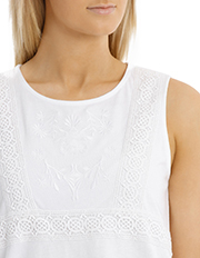 Regatta - Tonal Embroidered Sleeveless Singlet