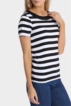Regatta - Essential Duo Stripe Short Sleeve Tee