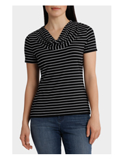 Regatta - Essential Cowl Neck Short Sleeve Tee